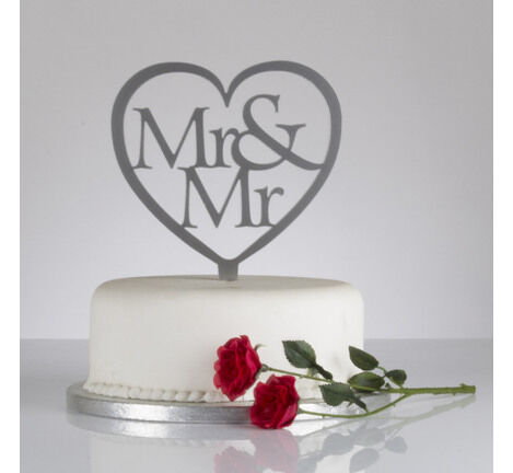heart shaped wedding cake stand mr amp mr shaped wedding cake topper from 163 4 50 15167